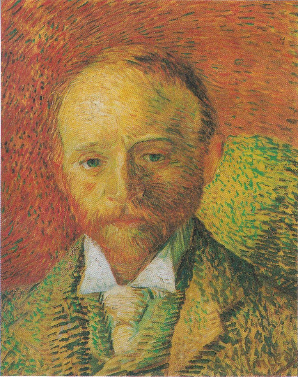 Van Gogh - Bildnis des Kunsthändlers Alexander Reid, 1887