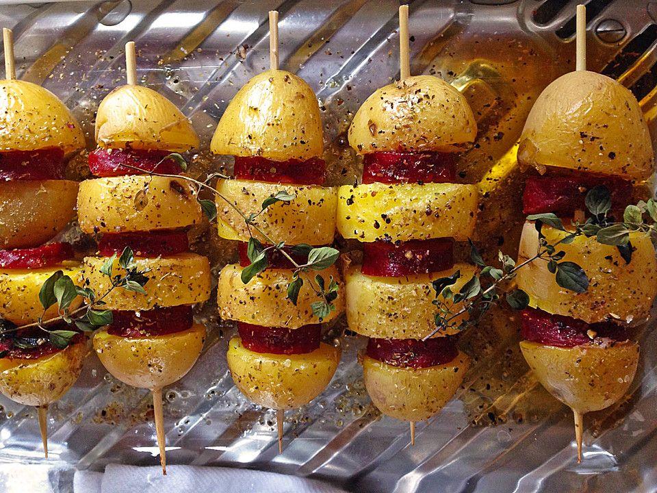 Spanische Kartoffelspieße | Rezept | Rezepte, Spanisches ...