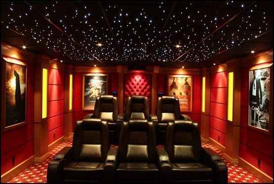 Movie themed bedrooms - home theater design ideas - Hollywood ...