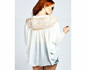 boohoo Gemma Crochet Back Detail Shirt - white azz33073 Make your top a talking point with textures - think brocades, quilting and fluffy-feel. Jersey kinda gal? Shake it up with shapes. Crop tops get cutting edge in boxy, boyfriend fit shapes and shell to http://www.comparestoreprices.co.uk/womens-clothes/boohoo-gemma-crochet-back-detail-shirt--white-azz33073.asp