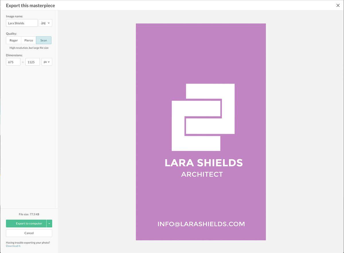 Die Größe Der Visitenkarte In Adobe Illustrator Als Auch Als