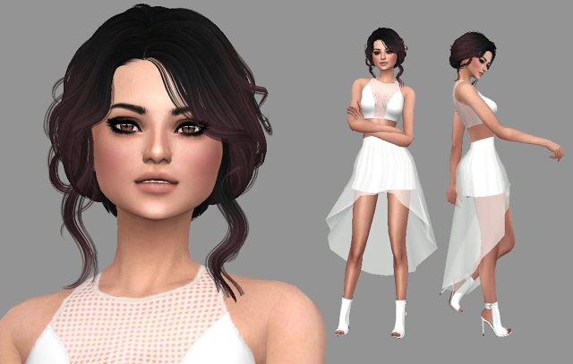 Sims 4 CC's The Best Selena Gomez by Trillyke sims 4