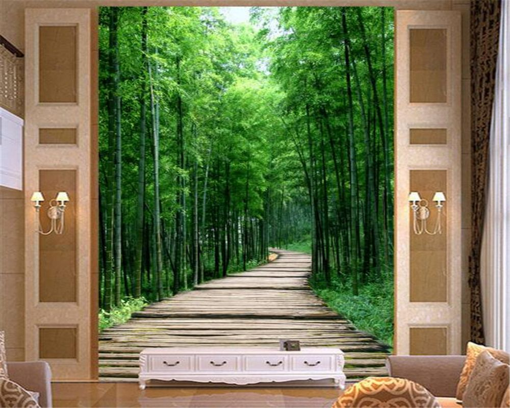 Beibehang 3d Wallpaper Decorative Painting 3d Mysterious Clear