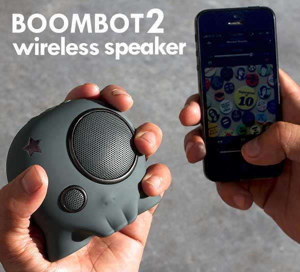 Awesome bluetooth and wired water resistant speakers.  Too damn cool!