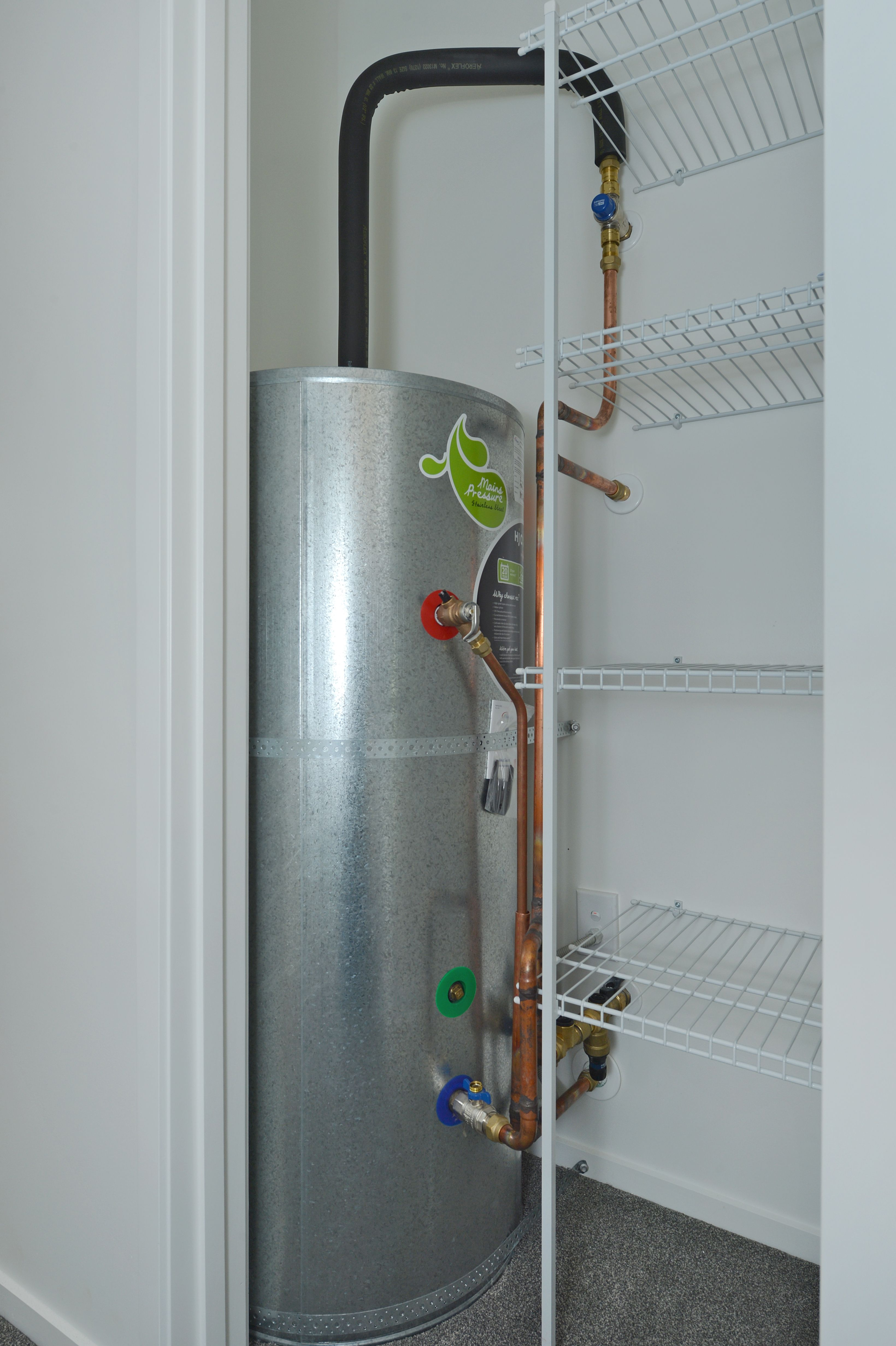 HJ Cooper Stainless Steel Mains Pressure Hot Water Cylinder