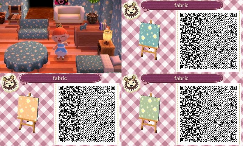 Assorted Wallpaper Furniture Pattern Qr Codes Acnewleafdesigns