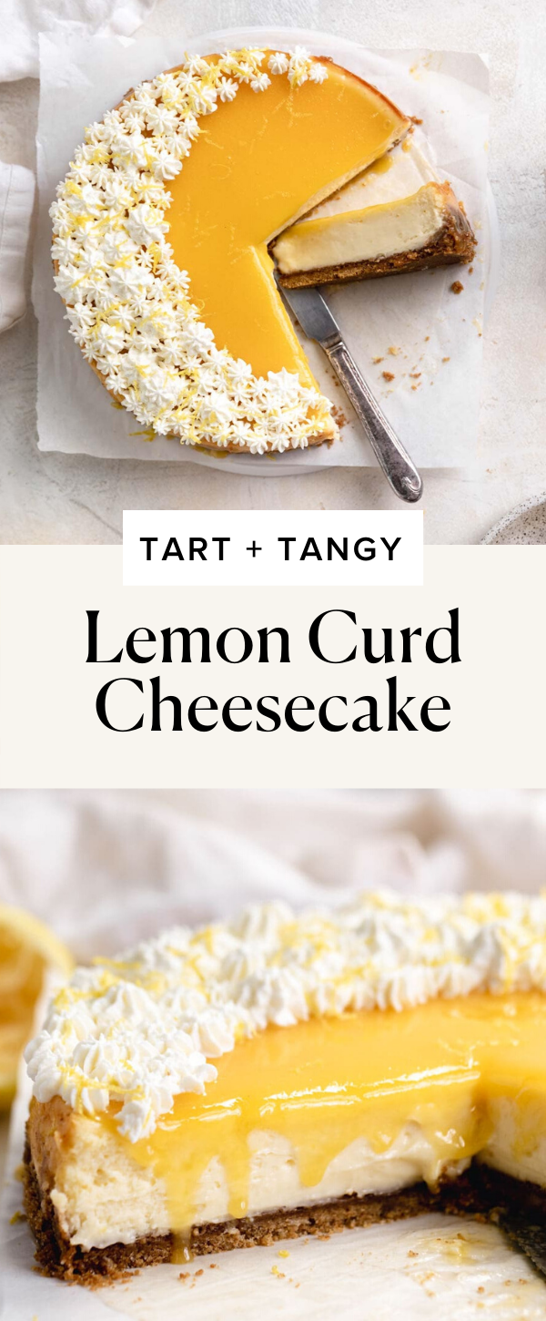 Photo of Lemon Curd Cheesecake – Tart and Tangy!
