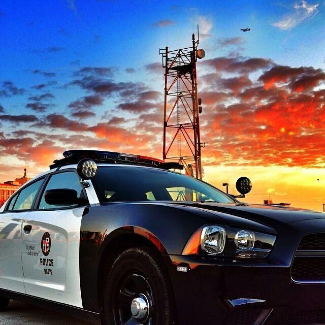 LAPD @ Sunset.