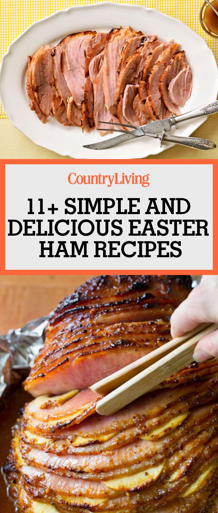 14 Easy And Delicious Ham Recipes For Easter Recipes Easter Ham