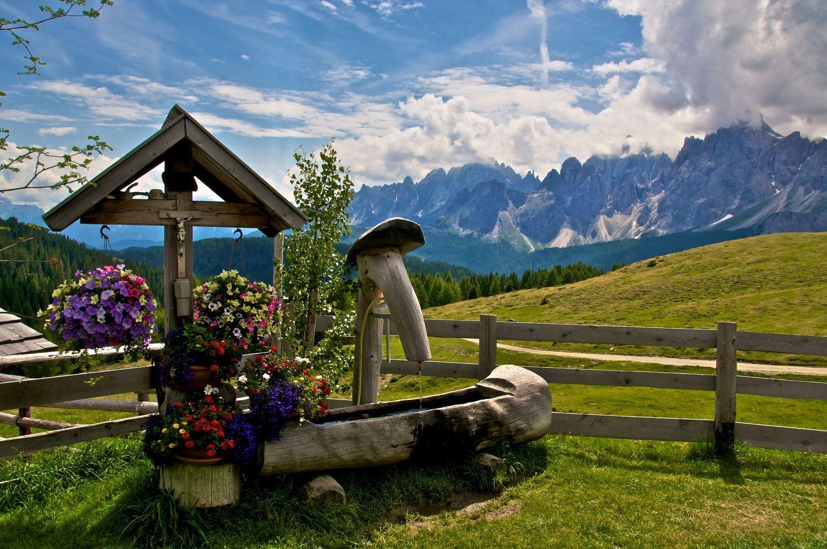 Alp Dolomites Italy Landscapes Tour Pinterest Italy