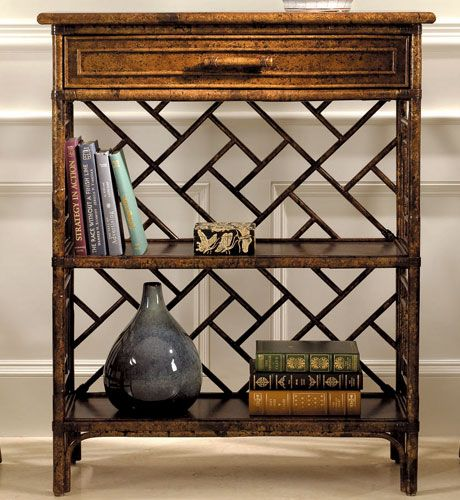 The Well Appointed House by Melissa Hawks. Chinese Chippendale Book Shelf