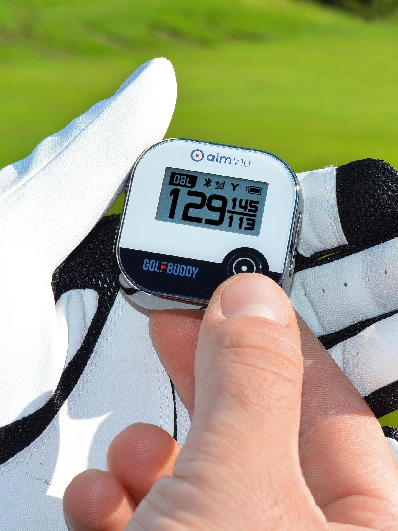 Golfbuddy Golf Buddy Aim V10 Talking Golf Gps Yardage System With Bluetooth Technology - One Colour - #bluetoothtechnology