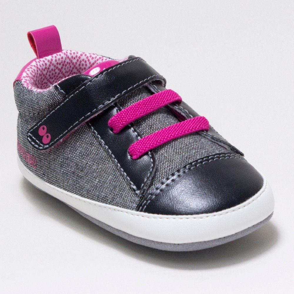 2021db0cc631 Baby Girls  Surprize by Stride Rite Clara Sneaker Mini Shoes - Black 18-24M