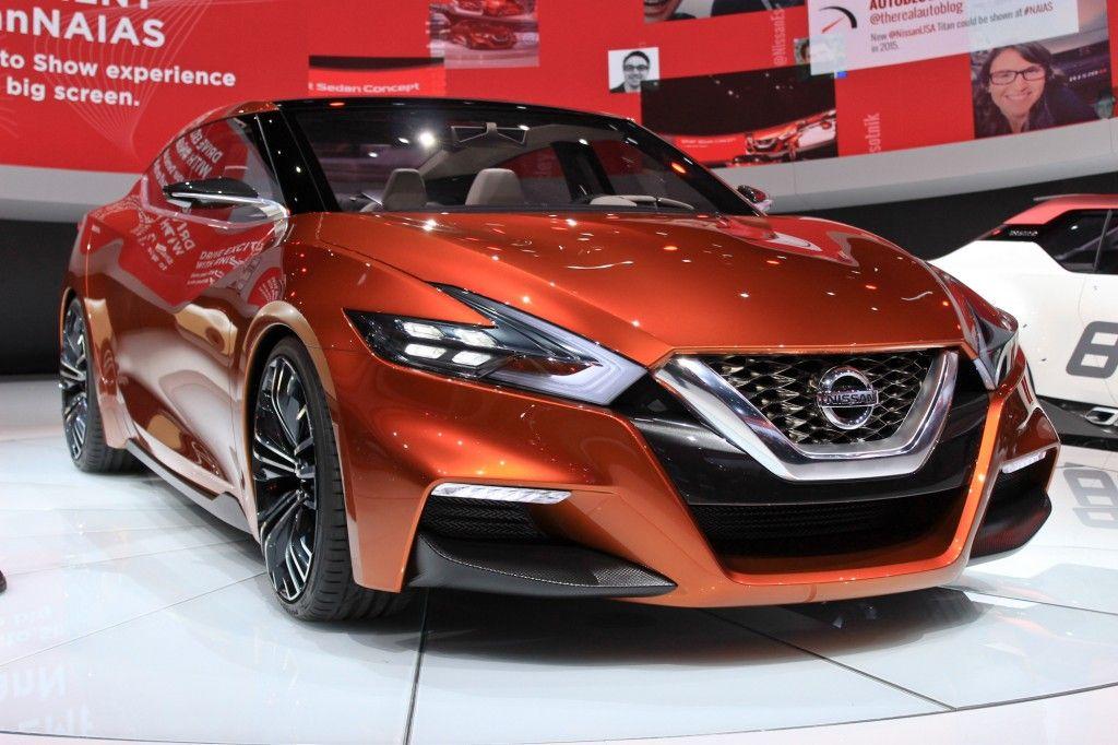 Nissan Sport Sedan Concept Debuts At Detroit, Previews