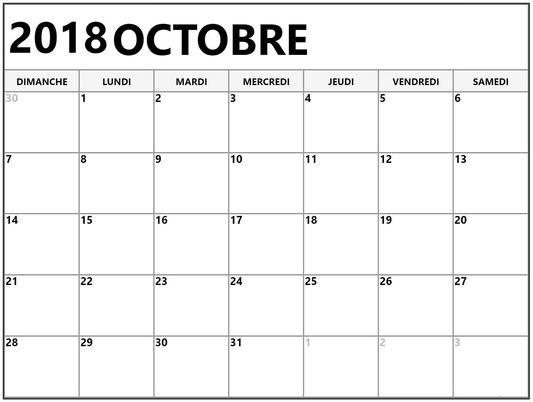 Calendrier Octobre 2018 Pdf Words Word Search Puzzle How To Plan