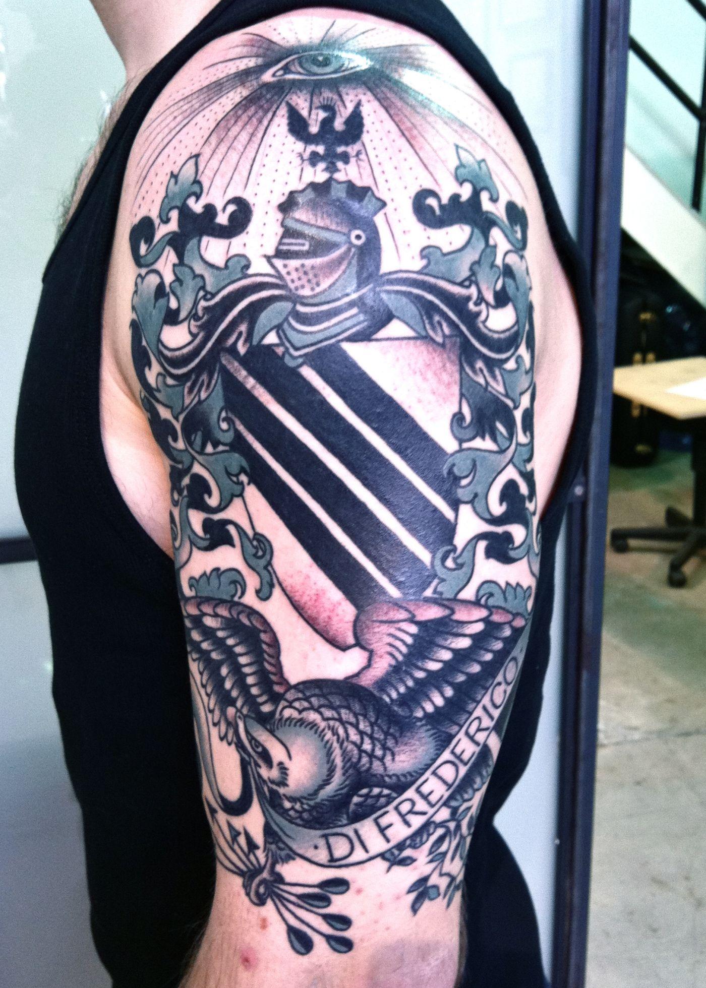 Family Crest Tattoo Tattoo Pinterest Tattoos Crest Tattoo And