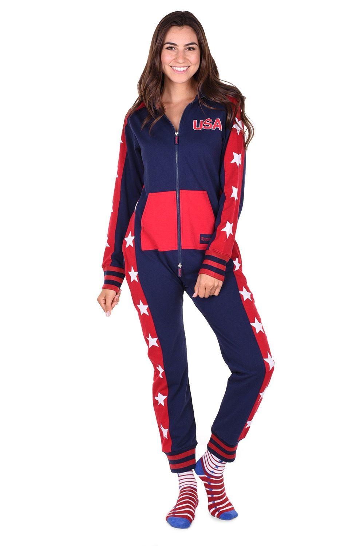 54ef79df5 Women s USA Stars Jumpsuit