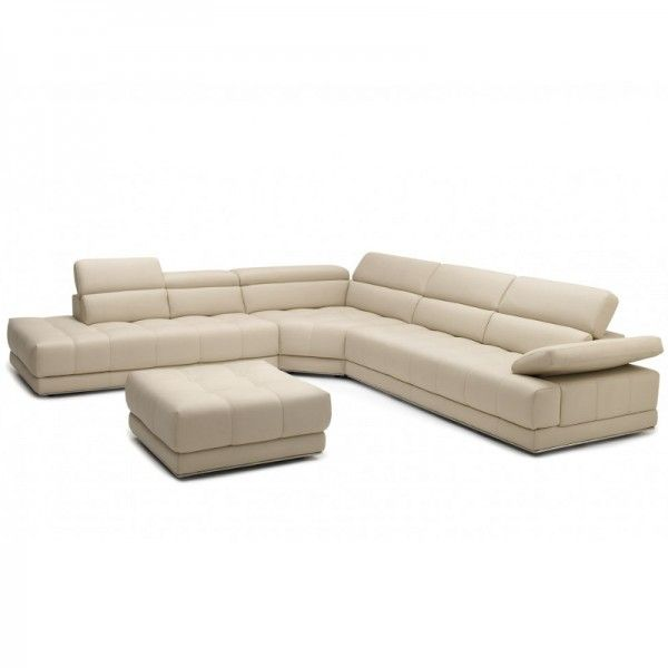 Vivaldi Leather Corner Sofa #lounge #leather #sofas