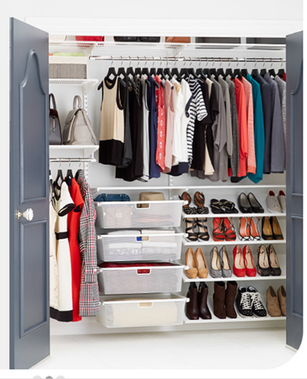 High Quality Hereu0027s How To Avoid The Most Common Mistakes When Organizing A Small Closet  Elfa Closet,