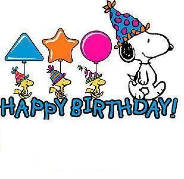 Image Detail For -happy Birthday Snoopy