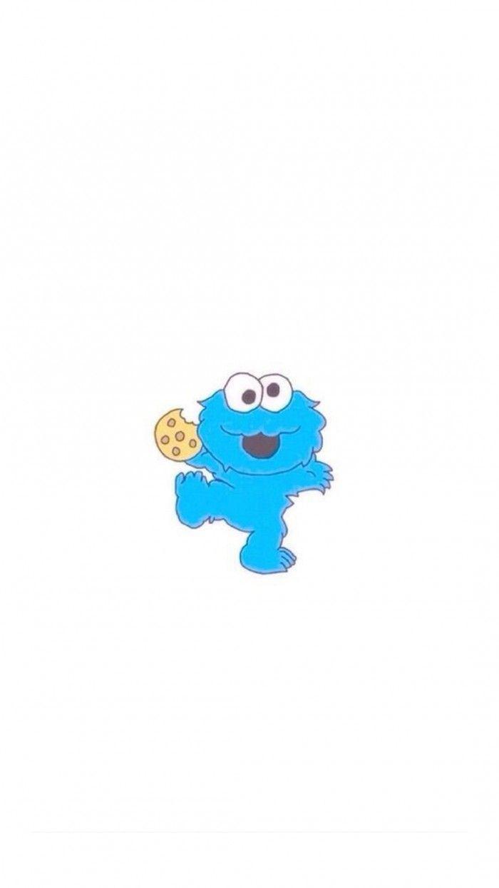 Baby Cookie Monster Iphone 6 Hd Wallpaper Baby Cookie Monster Monster Cookies Baby Cookies