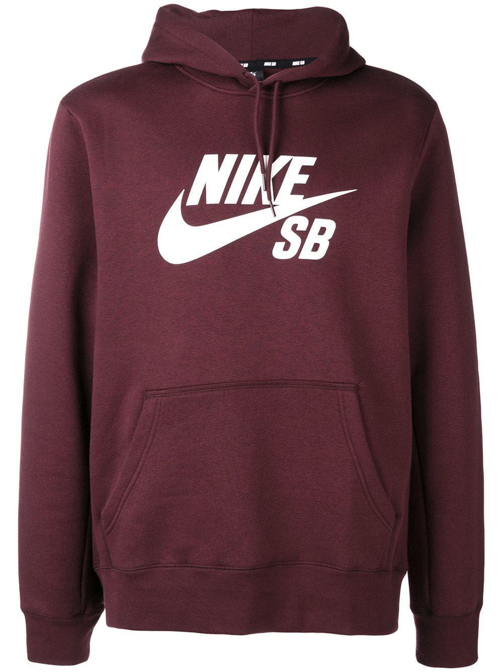 Nike Nike Sb Icon Pullover Hoodie Red Nike Cloth [ 1334 x 1000 Pixel ]