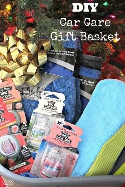 DIY Car Care Gift Basket #boyfriendgiftbasket DIY Car Care Gift Basket - LifesABargain.net #boyfriendgiftbasket