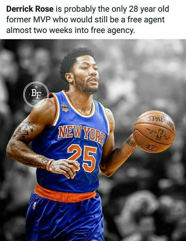 9e80b085bdb Derrick Rose is still a free agent  NBA