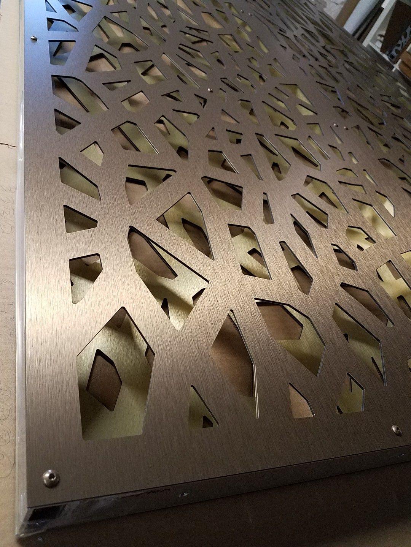 Decorative Screen Partitions Double Layer Aluminum Composite