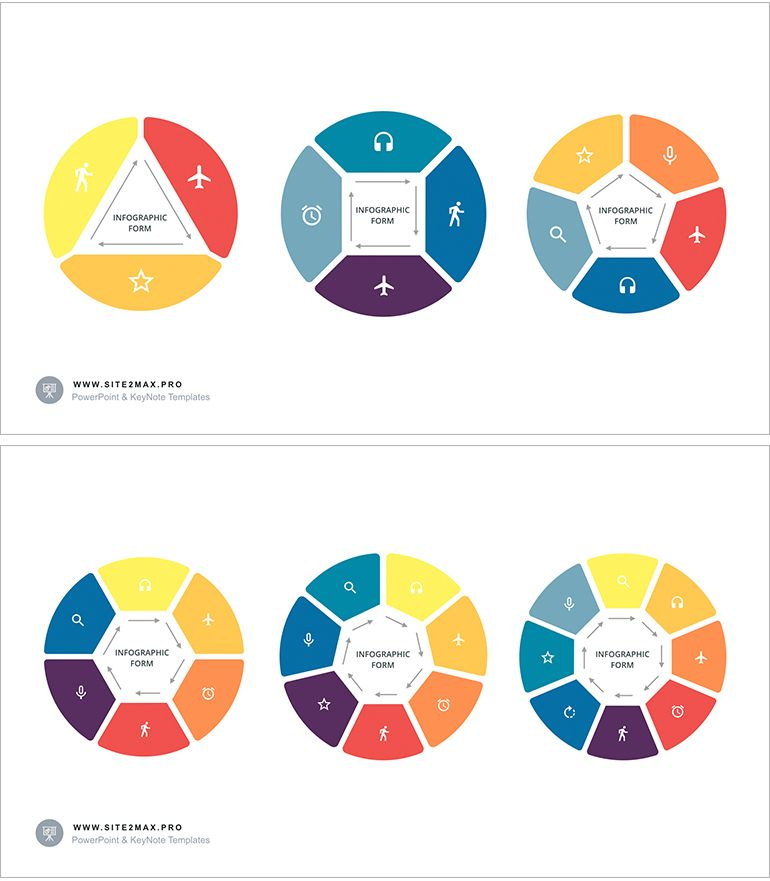 Download    site2maxpro circular-infographic-key-template-2 - circle template