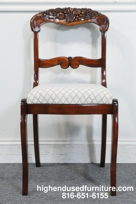 Exceptionnel High End Used Furniture | BRANDT Grand Rapids Solid Mahogany Duncan Phyfe  Dining Chair