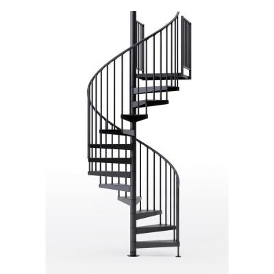 Mylen Stairs Condor Black 60 In 5 Ft 0 In Wide 10 Treads With