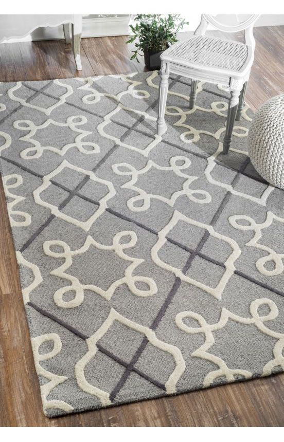 Rugs USA Tuscan Trellis VS73 Grey Rug. Rugs USA pre Black Friday Sale up to 75% Off! Area rug, rug, carpet, design, style, home decor, interior design, pattern, home interior,  trends, home, statement, fall,design, autumn, cozy, sale, discount, interiors, house, free shipping, fall decorations, fall crafts, fall décor, great winter, winter, warm, furniture, chair, art.