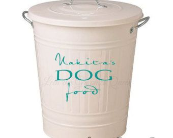 dog food storage - Google Search  sc 1 st  Pinterest & dog food storage - Google Search | Stuff for my Dog | Pinterest ...