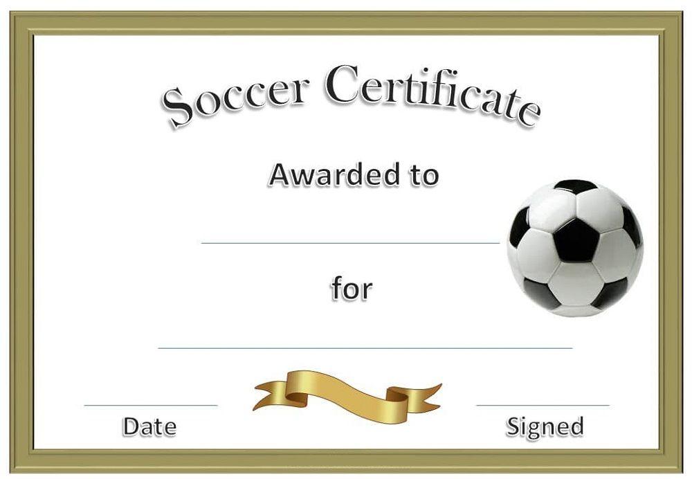 soccer certificate templates printable k5 worksheets blank