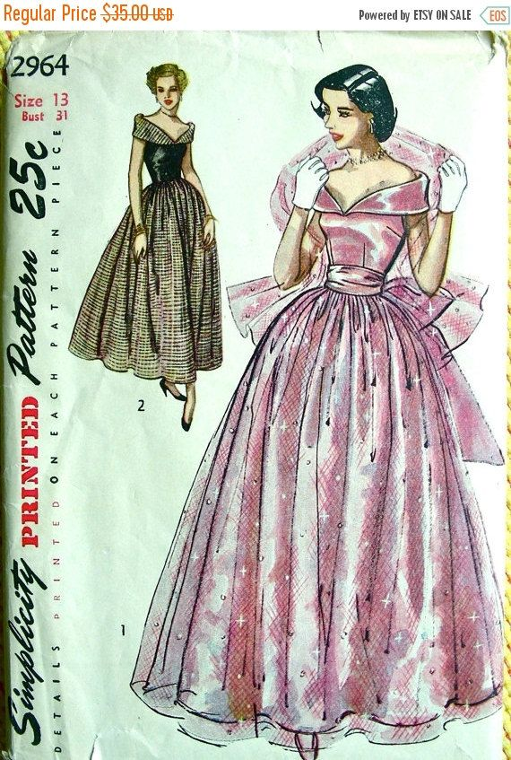 Ohhh 2 3 Some Vintage Simplicity Sewing Patterns For