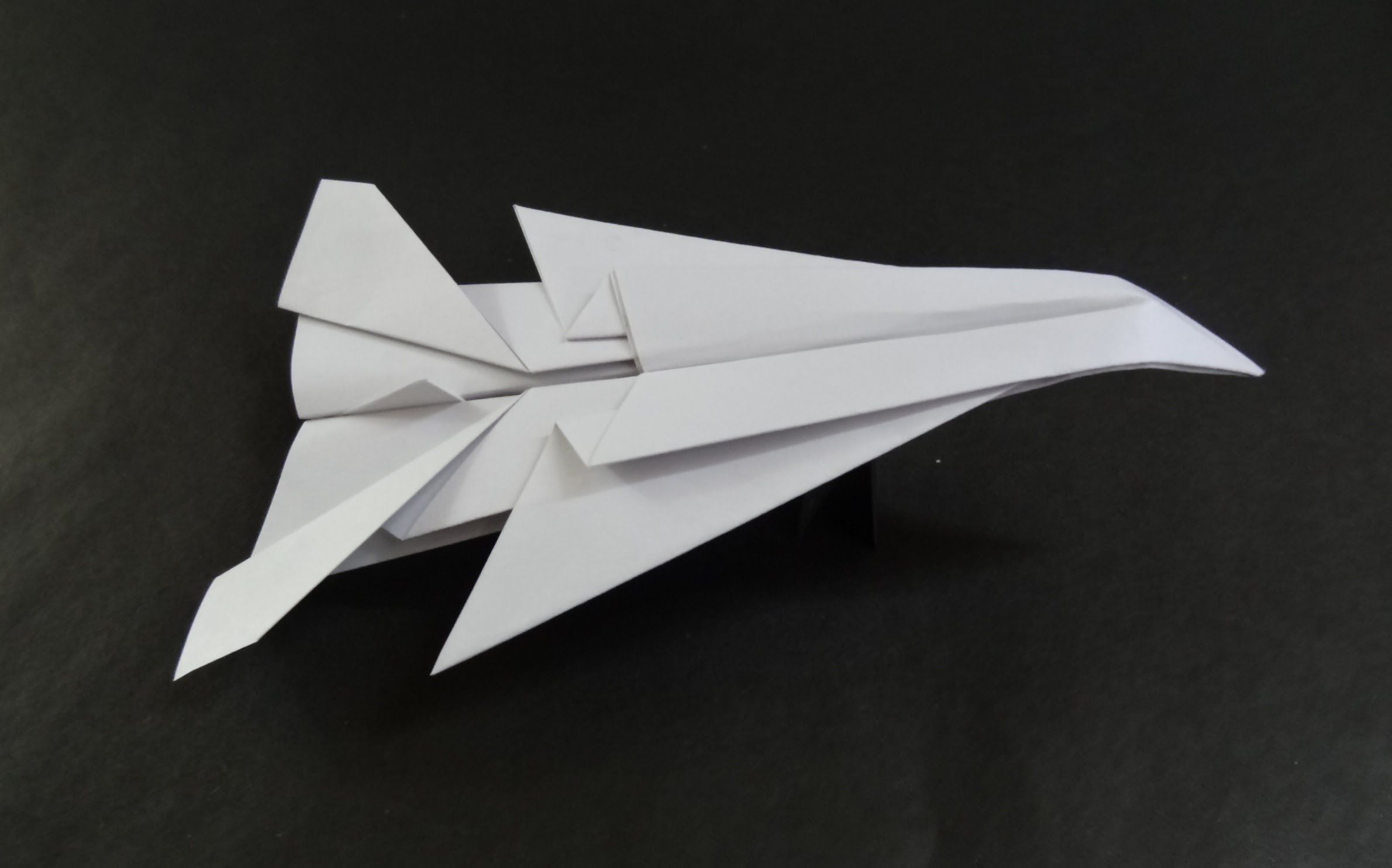 origami paper planes how to fold a jet fighter plane