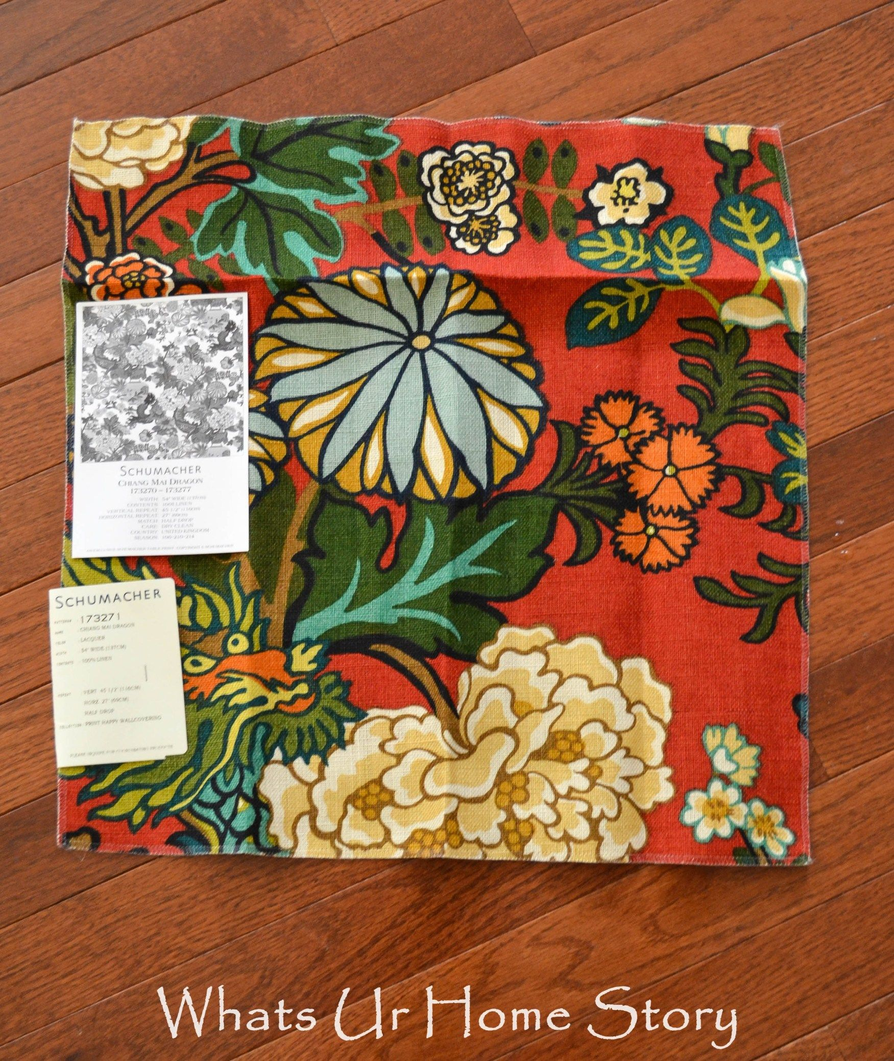 How To Get High End Designer Fabric On The Cheap Whats Ur Home Story Fabric Crafts Crafts Fabric