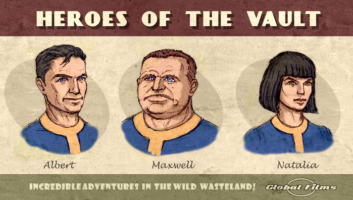 Fallout 1 Characters