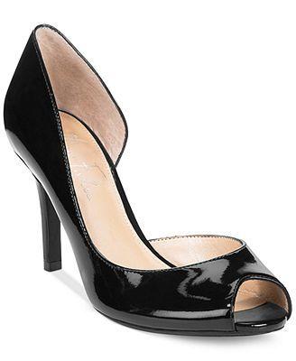 Marc Fisher Joey Peep Toe Pumps - Shoes