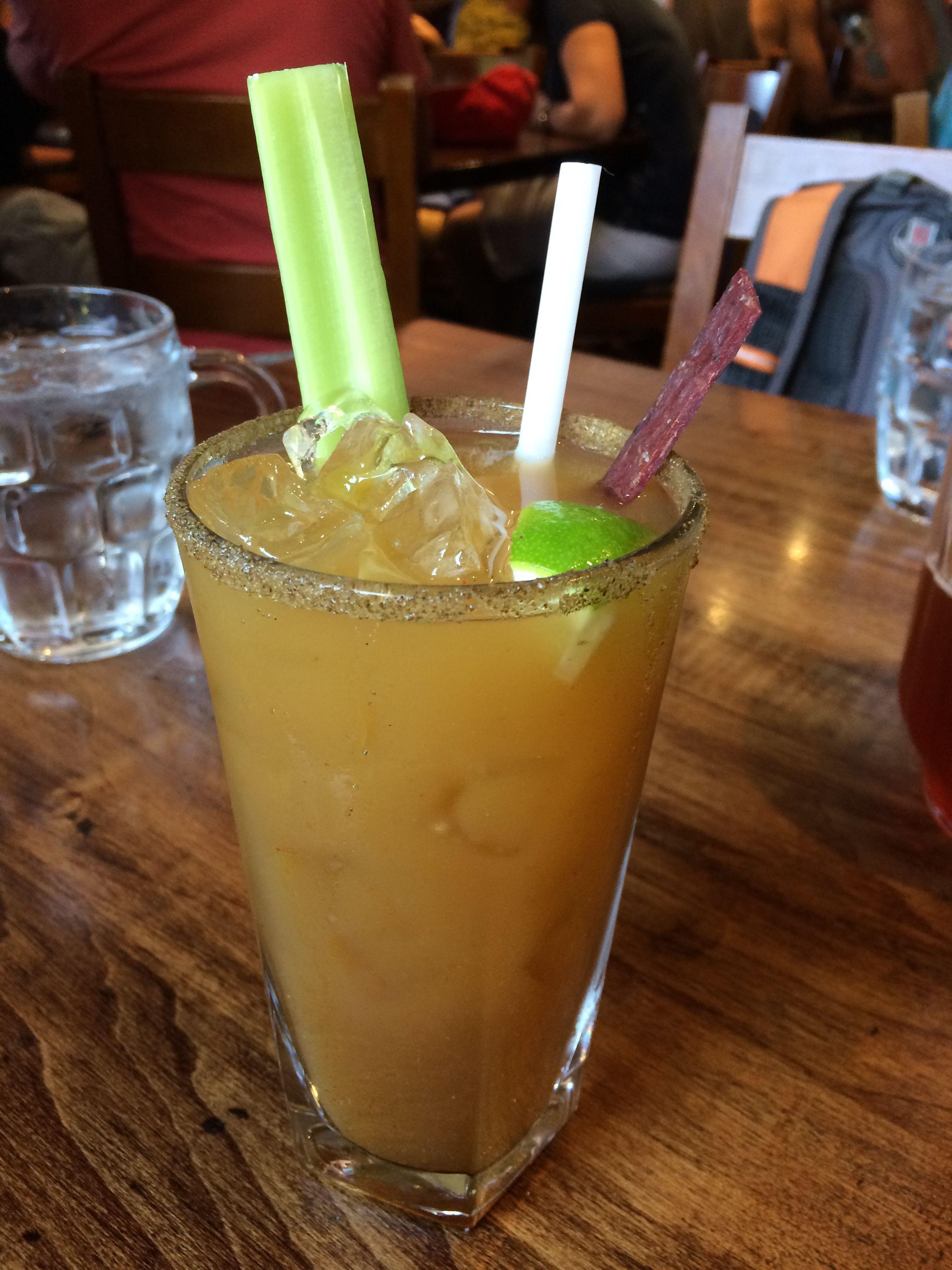 Pineapple Caesar at Dusty's Bar & BBQ in Whistler, BC (http://eatnorth.ca/eat-north/pineapple-basil-caesar)