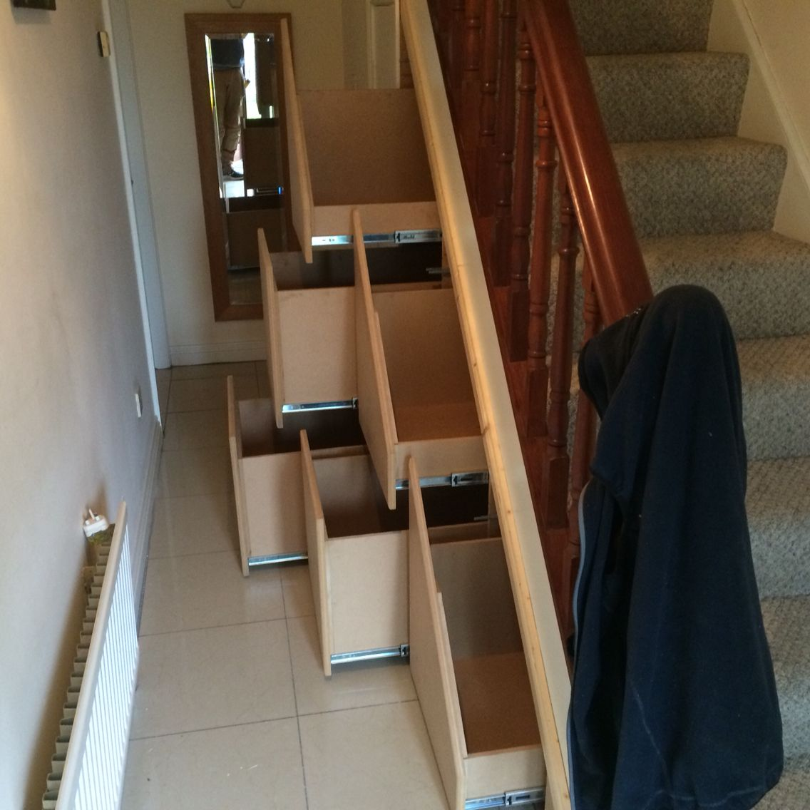 Bespoke Under Stairs Shelving: Absolute Bespoke Carpentry Made This Mdf Under Stairs