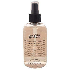 #amazing  #body  #care  #grace  #motivation  #philosophy  #spray  #spritz  #women #Grace #Body  Amazing Grace Body Spritz by Philosophy for Women - 8 oz Body Spray | Care Motivation