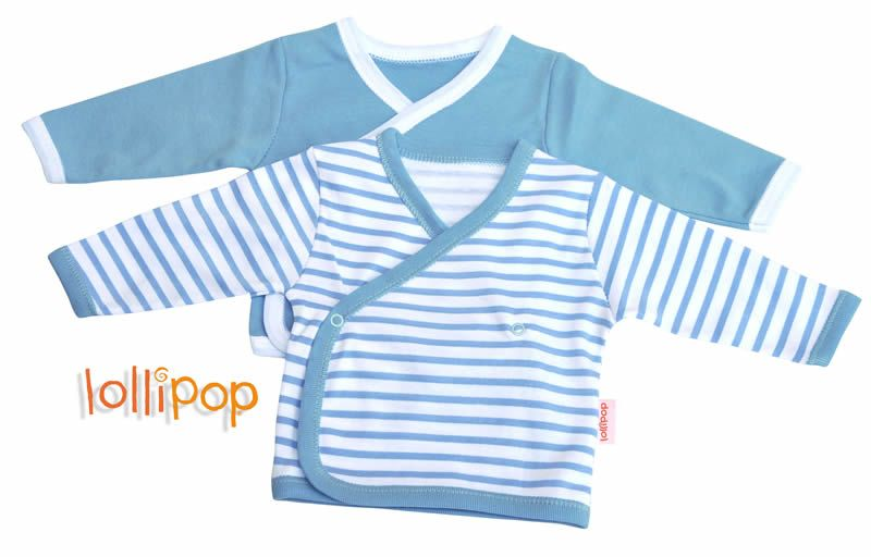 2 Pack Wrap Around Baby Vest Blue Baby Pinterest Baby Vest And