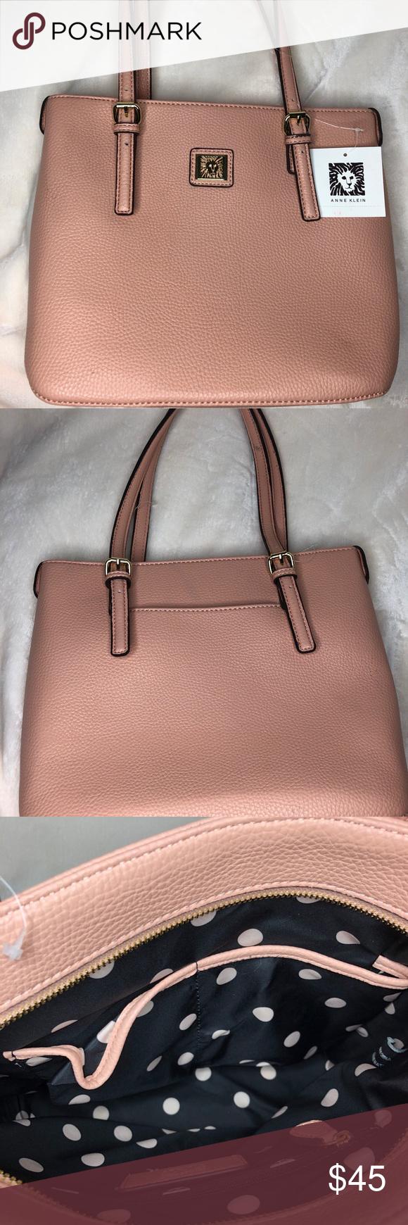 22f11de82b Anne Klein purse Anne Klein Blush Pink purse Anne Klein Bags Shoulder Bags