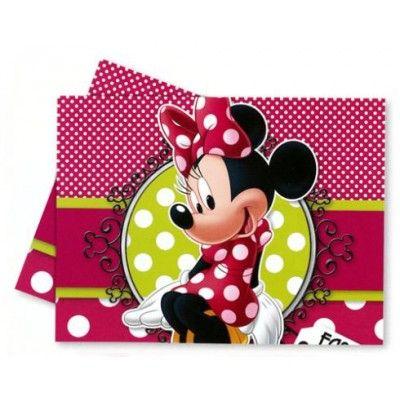 Nuevos articulos para fiesta de cumpleaños, como este bonito mantel de Minnie Mouse que podeis ver en nuestra tienda http://www.articulos-fiestas-infantiles.es/142-fiesta-cumpleanos-minnie-mouse