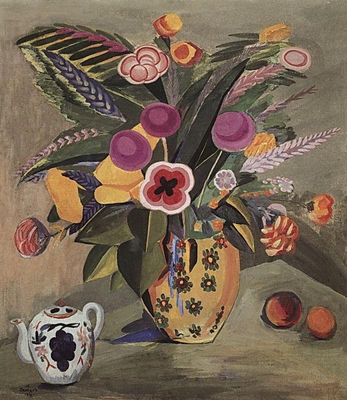 Eastern Flowers Martiros Saryan Wikiart Org Artwork Flower Painting Creative Artwork