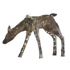 Holiday Living 1 Piece 2 3 Ft Deer Outdoor Christmas Decoration
