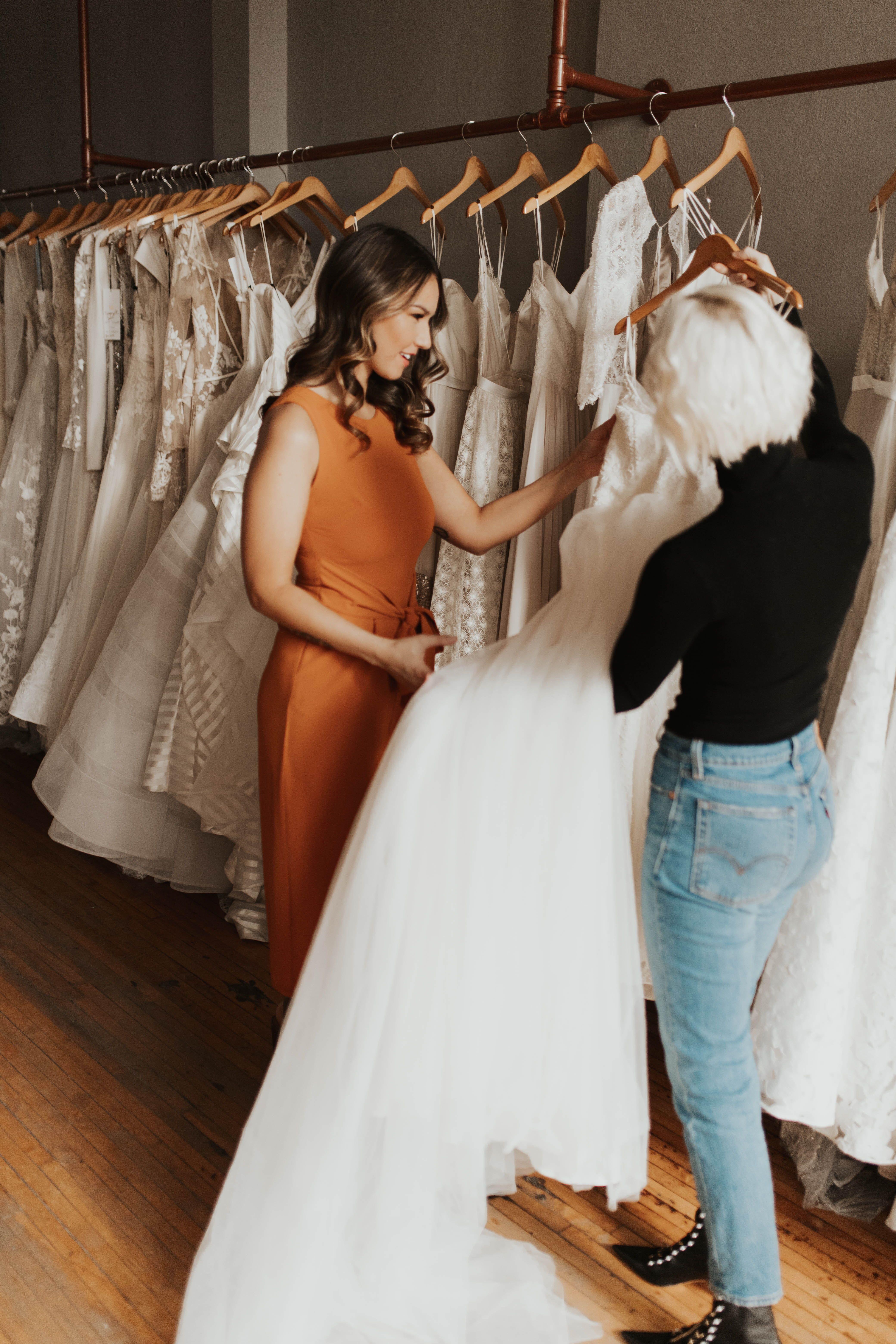 Look Inside A Be Bridal Shop In Minneapolis A Be Bridal Shop Bridal Shop Bridal Shop Interior Bridal,Second Wedding Wedding Dress Mature Bride