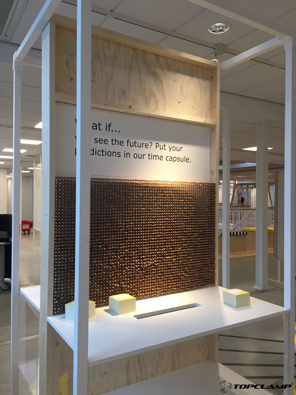 Exhibition Furniture For IKEA Offices. Made By Houtwerk Delft Using  Topclampu2026